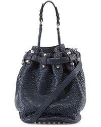 Alexander Wang Diego Studded Bucket Bag - Lyst