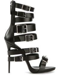 Giuseppe Zanotti Strappy Buckled Sandals - Lyst