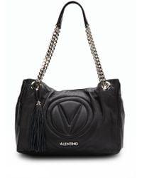 Valentino Verra Leather Shoulder Bag - Lyst