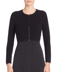 Narciso Rodriguez | Stretch-wool Bolero | Lyst