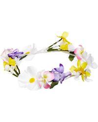 Asos Secret Garden Flower Garland - Lyst