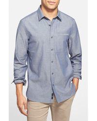 Victorinox - 'alba' Chambray Sport Shirt - Lyst