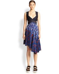 Stella McCartney Ric-Rac Bustier Dress - Lyst