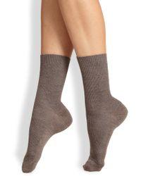 Fogal Nepal Ribbed Socks - Lyst