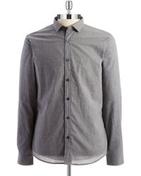 Michael Kors Pindot Sports Shirt - Lyst