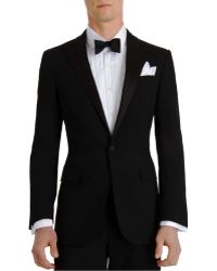 Ralph Lauren Black Label - Silk Peaked Lapel anthony Tuxedo - Lyst