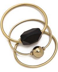 By Malene Birger - Orchestra Bracelet Set - Gold Multi - Lyst