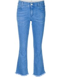 Stella McCartney | Cropped Flare Jeans | Lyst