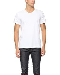 Apolis - V Neck T-Shirt - Lyst