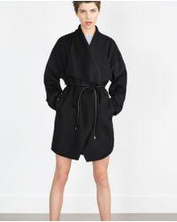 Zara | Hand Made Coat | Lyst