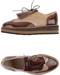 Hego's Lace-Up Shoes - Brown
