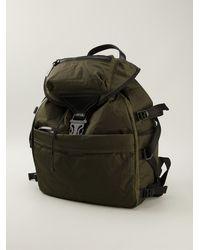 Alexander McQueen Green Casual Backpack - Lyst