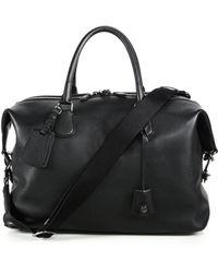 COACH   Explorer Leather Duffel Bag   Lyst