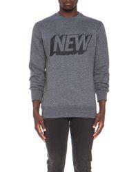 Stampd | Mens New Cotton-blend Crew Sweatshirt | Lyst