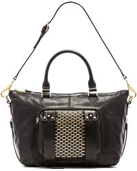 She + Lo | Next Chapter Studded Small Satchel Bag | Lyst