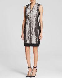 T Tahari Black Miri Dress - Lyst