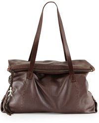 Henry Beguelin - Lady Amazone Medium Fold-Over Tote Bag - Lyst