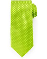 Ted Baker Dot-Print Woven Tie - Lyst