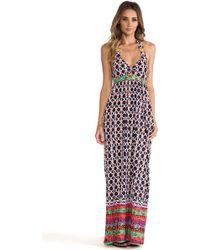 Trina Turk Venice Beach Halter Dress - Lyst