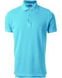 Kiton Short Sleeve Polo Shirt - Lyst