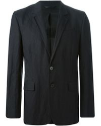 Ann Demeulemeester Casual Blazer with Creases - Lyst
