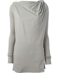 DRKSHDW by Rick Owens New Toga T-shirt - Lyst