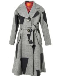 Vivienne Westwood Red Label Patchwork Wool-Blend Coat - Lyst