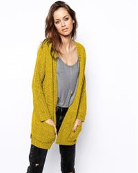 Asos Ultimate Chunky Cardigan - Lyst