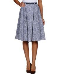 Paul & Joe Knee Length Skirt - Lyst