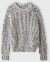 Le Mont St Michel Tonal Ribbed Sweater - Lyst