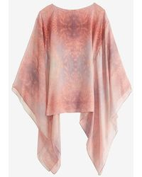 Alexis - Yves Cloud Kaftan: Pink - Lyst