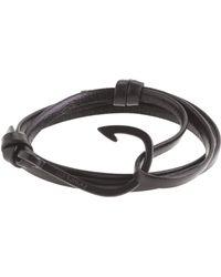 J.Crew - Miansai Leather Hook Bracelet - Lyst