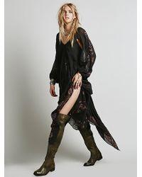Free People Womens Fp New Romantics Riviera Embroidered Dress - Lyst