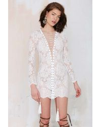 Nasty Gal The Jetset Ruins Lace Dress - Lyst