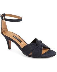 Kay Unger 'zantis' Ankle Strap Sandal - Blue