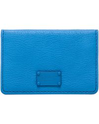 Marc By Marc Jacobs Electro Q Business Card Case - Lyst