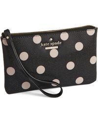 Kate Spade Cedar Street Bee Wristlet - Lyst