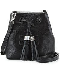 Tory Burch Thea Mini Crossbody Bucket Bag - Lyst