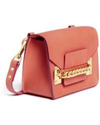 Sophie Hulme - Chain Mini Envelope Bag - Lyst