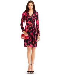 Diane von Furstenberg 440 Gallery Bellini Patent Leather Crossbody Bag red - Lyst