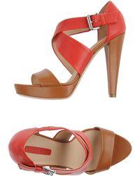Longchamp Sandals - Brown