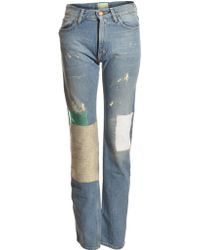 Aries Patchwork Boyfriend Jeans I By - Lyst