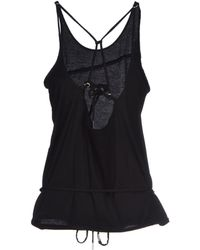 Isabel Marant Top black - Lyst