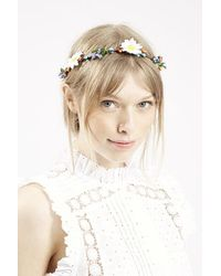 Topshop Floral And Berry Garland multicolor - Lyst