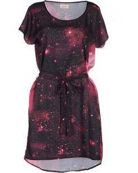 Numph Short Dress - Lyst