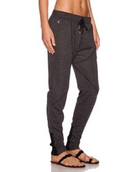First Base - Drop-Crotch Cotton Sweatpants - Lyst