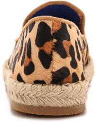 Jeffrey Campbell Leopard Espadrilles Beige - Lyst