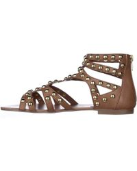 Steve Madden | Culver Gladiator Flat Sandals | Lyst