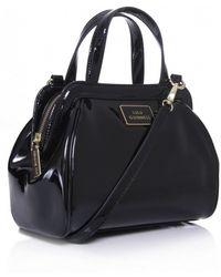 Lulu Guinness Patent Small Paula Shopper Bag - Lyst