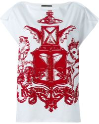 Vivienne Westwood Anglomania Logo Print T-shirt - Lyst